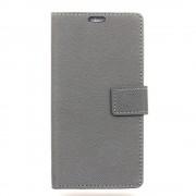 Sony Xperia XA1 flip cover med lommer grå Mobilcovers