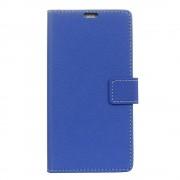 til Sony Xperia XA1 flip cover med lommer blå Mobilcovers