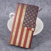 Cover med mønster Retro American Flag Xperia XZ premium Mobil tilbehør