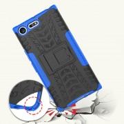 Mark II Sony Xperia XZ premium håndværker cover blå Mobilcover