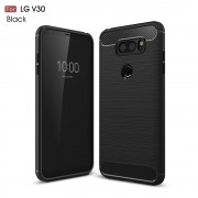 C-style armor cover sort LG V30 Mobilcovers