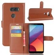 Vilo flip cover med lommer brun LG V30 Mobilcovers