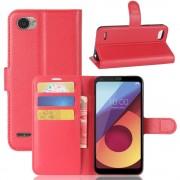 Vilo flipcover med lommer rød LG Q6 Mobilcovers