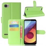 Vilo flipcover med lommer grøn LG Q6 Mobilcovers