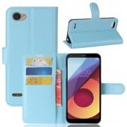 Vilo flipcover med lommer blå LG Q6 Mobilcovers