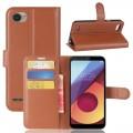 Vilo flipcover med lommer LG Q6 brun