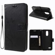LG K8/K9 (2018) sort cover med mønster Mobil tilbehør