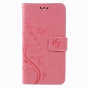 LG K8/K9 (2018) pink cover med mønster Mobil tilbehør