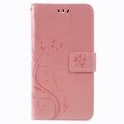 LG K8/K9 (2018) rosaguld cover med mønster Mobil tilbehør