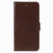 LG K8/K9 (2018) brun cover med mønster Mobil tilbehør