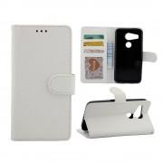 LG NEXUS 5X cover etui med kort lommer hvid Leveso Mobil tilbehør