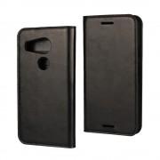 LG NEXUS 5X cover etui med kort lommer sort Leveso Mobil tilbehør