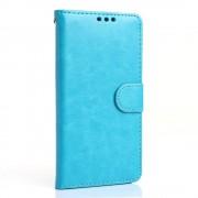 LG G5 læder pung cover, blå Mobiltelefon tilbehør