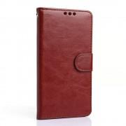 LG G5 læder pung cover, brun Mobiltelefon tilbehør