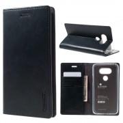 LG G5 Mercury læder pung cover, mørkeblå Mobiltelefon tilbehør