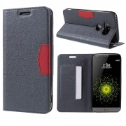 LG G5 line læder cover grå, Mobiltelefon tilbehør