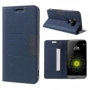 LG G5 line læder cover blå, Mobiltelefon tilbehør