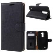 LG K10 cover med lommer sort LG Mobil tilbehør
