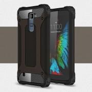 LG K10 cover Armor Guard sort Mobiltelefon tilbehør