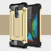 LG K10 cover Armor Guard guld Mobiltelefon tilbehør