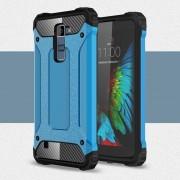 LG K10 cover Armor Guard lyse blå Mobiltelefon tilbehør