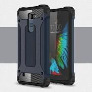 LG K10 cover Armor Guard mørke blå Mobiltelefon tilbehør
