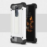 Til LG K8 Armor Guard cover hvid Mobiltelefon tilbehør