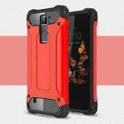 LG K8 Armor Guard cover rød Mobiltelefon tilbehør