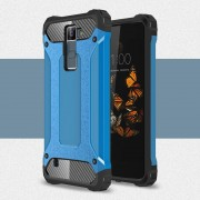 LG K8 Armor Guard cover lyse blå Mobiltelefon tilbehør