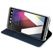 til LG G6 slim cover med lomme blå Mobilcover