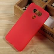 til LG G6 bagcover rød i blød tpu Mobilcover