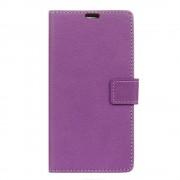 Mavo flip cover med lommer lilla til LG G6 Mobilcover