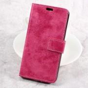 LG K4 2017 cover i retro stil rosa Mobilcovers