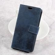 LG K4 2017 cover i retro stil blå Mobilcovers