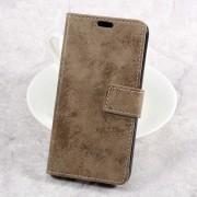 LG K4 2017 cover i retro stil brun Mobilcovers