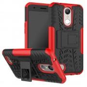 Mark II håndværker cover rød LG K10 2017 Mobilcovers