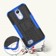 Mark II håndværker cover blå til LG K10 2017 Mobilcovers