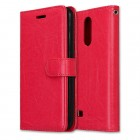Vilo læder flipcover rød LG K4 2017 Mobilcovers