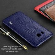 Cover case croco blå Htc U11 Mobilcovers