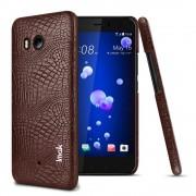 Cover case croco brun Htc U11 Mobilcovers