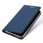 Slim flip cover blå Htc U11 plus Mobil tilbehør