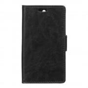 HTC DESIRE 530 læder cover med lommer sort, Mobiltelefon tilbehør