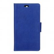 HTC DESIRE 530 læder cover med lommer blå, Mobiltelefon tilbehør