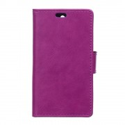 HTC DESIRE 530 læder cover med lommer lilla, Mobiltelefon tilbehør