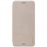 HTC DESIRE 530 slim læder cover champagne, Mobiltelefon tilbehør