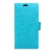HTC DESIRE 530 læder cover med kort lommer blå, Mobiltelefon tilbehør