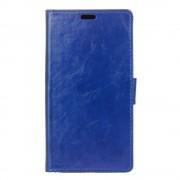 HTC 10 læder cover med kort lommer blå, Mobiltelefon tilbehør