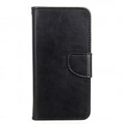 HTC DESIRE 530 pung læder cover sort, Mobiltelefon tilbehør