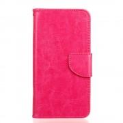 HTC DESIRE 530 pung læder cover rosa, Mobiltelefon tilbehør
