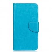 HTC DESIRE 530 pung læder cover blå, Mobiltelefon tilbehør
